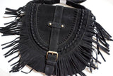 Tassel Fringe Handbag (Brown or Black) - Cowgirl Vibes