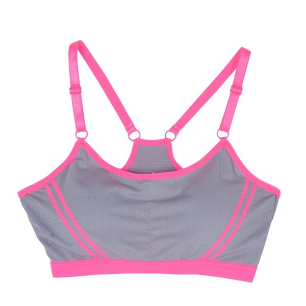 Free Women's Fitness Sports Bra - Orange