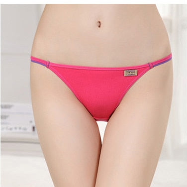 Women's Low Rise Modal Bikini Brief Underwear