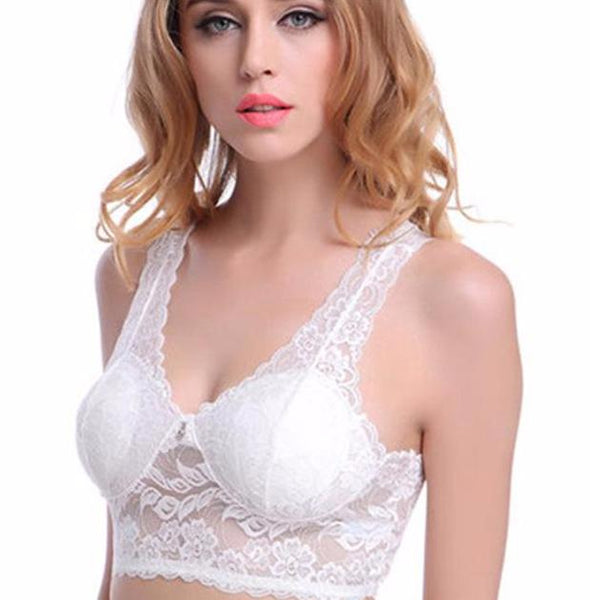 Women's Lace Wirefree Padded Bra