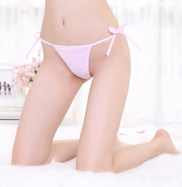 Women's Solid Color G-String