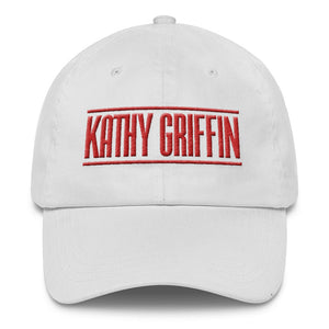 """Kathy Griffin"" Classic Cap (White, Black & Navy)"