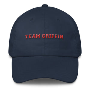 """Team Griffin"" Classic Cap (Black, White & Navy)"