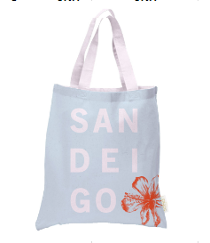 San Diego Hibiscus Tote