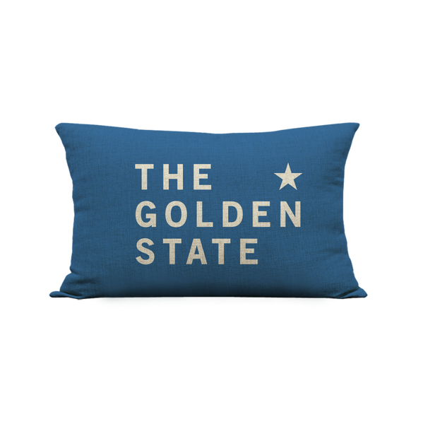 12x20in The Golden State Pillow