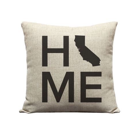 18x18in CA Home Pillow