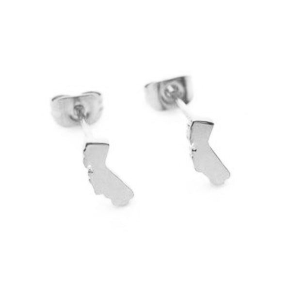 California Earrings - Silver