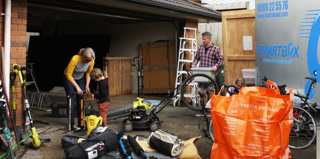 5 Steps to sorting out your garage