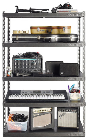 "48"" Wide EZ Connect Rack with 5 x 18"" Deep Shelves"