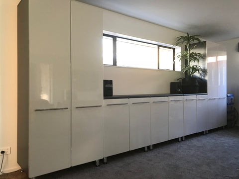SHOWROOM Cabinets built for garages