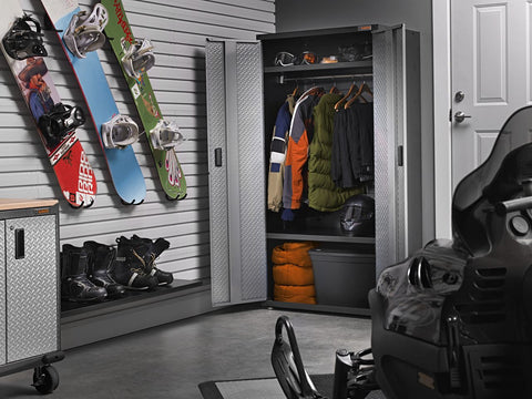 Ready-to-Assemble All-Season GearCloset