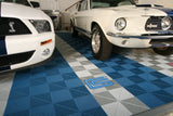 SHOWROOM Flexible but tough flooring tiles
