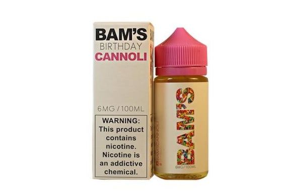 Birthday Cannoli by Bam Bam's E-Liquid [100ml]