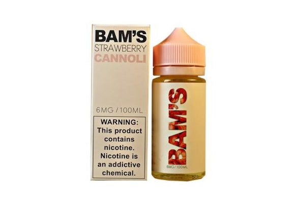 Strawberry Cannoli by Bam Bam's E-Liquid [100ml]