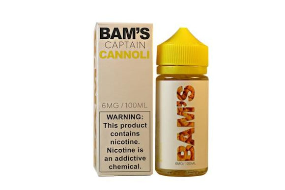Captain Cannoli by Bam Bam's E-Liquid [100ml]