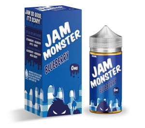 BLUEBERRY by JAM MONSTER [100ML]