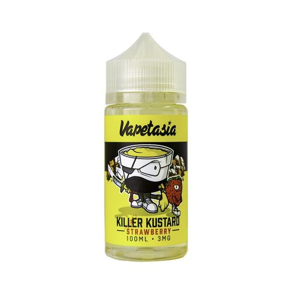 Killer Kustard Strawberry by VAPETASIA [100ml]