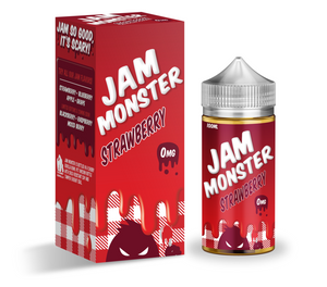 STRAWBERRY by JAM MONSTER [100ML]