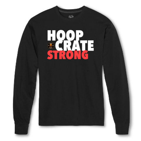 HoopCrate Strong BLK LS