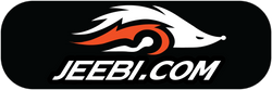 Jeebi.com Logo representing accessories for longboards and skateboards
