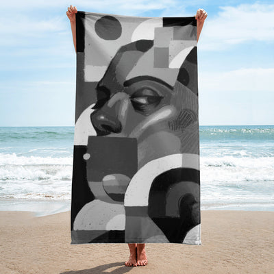 Evan Mendel Beach Towel