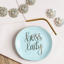 Load image into Gallery viewer, Mint Boss Lady Jewelry Dish
