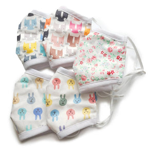 Kids Reusable/washable Cotton Face Mask - Adjustable