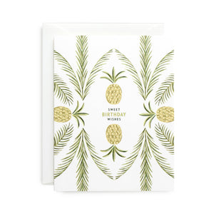 Pineapple Palm Card
