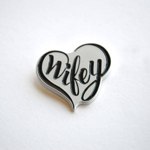 Wifey Wedding Pin