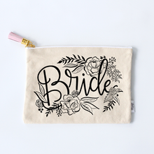 Load image into Gallery viewer, Bride Zippered Pouch