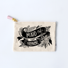 Load image into Gallery viewer, Maid Of Honor Zippered Pouch
