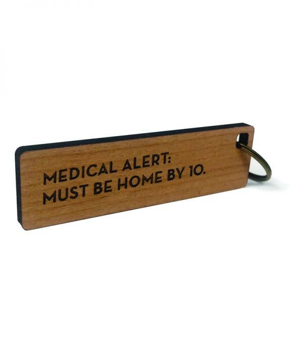 Medical Alert Key Tag