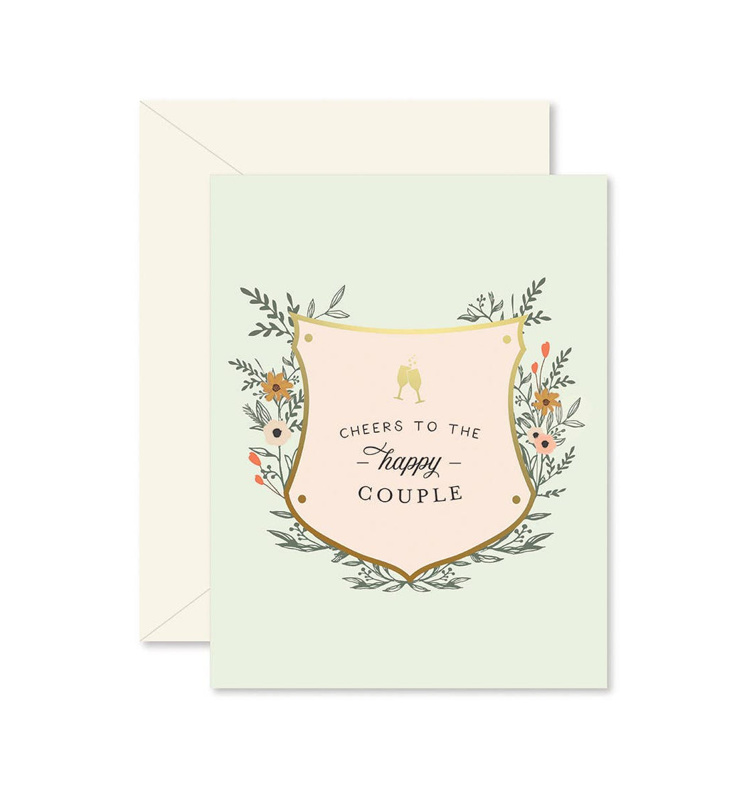Cheers to the Happy Couple Greeting Card