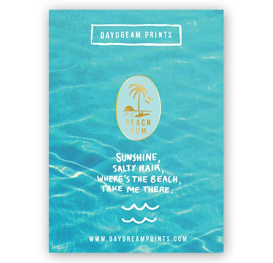 Beach Bum Pin