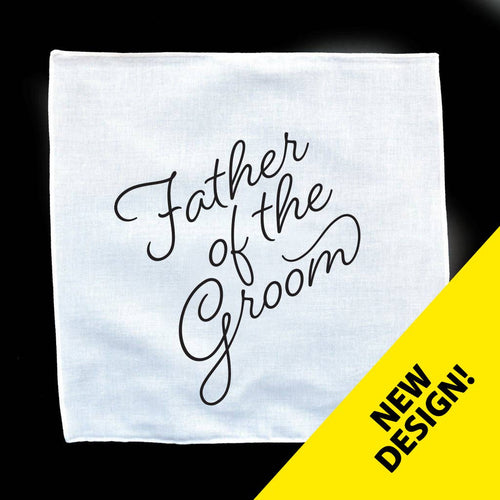 Father Of The Groom Wedding Handkerchief