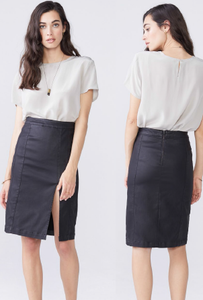 Rita Burnished Skirt