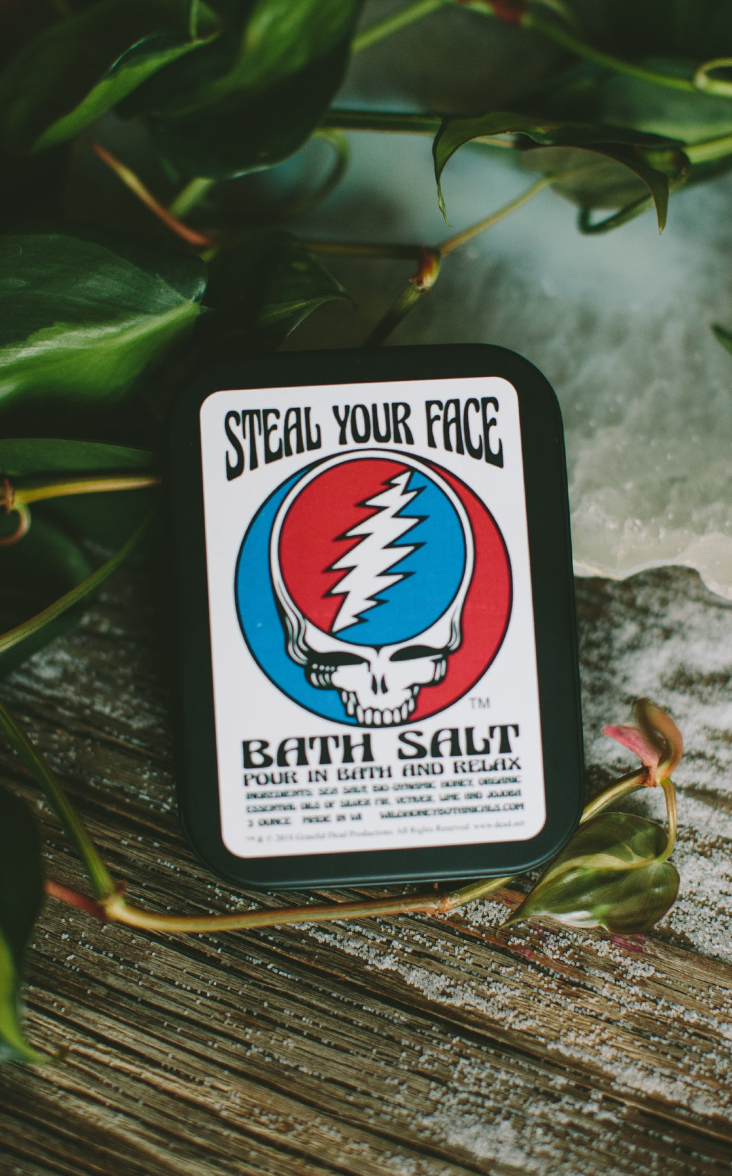 GRATEFUL DEAD ™ Bath Salt Tins