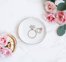 Load image into Gallery viewer, Engagement Ring Jewelry Dish