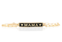Load image into Gallery viewer, Mama Enamel Charm Bracelet