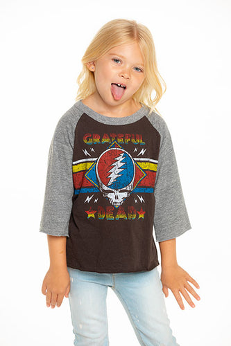 Grateful Dead Kids Raglan