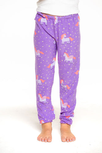 Electric Unicorn Girls Pants
