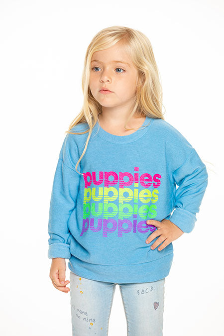 Bluebell Puppies Pullover