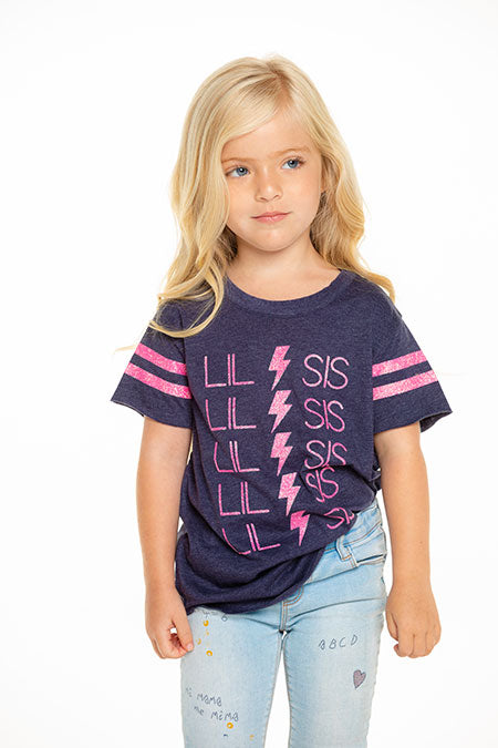 Lil Sis Lightening Bolt Tee
