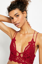 Load image into Gallery viewer, Dark Red Adella Bralette