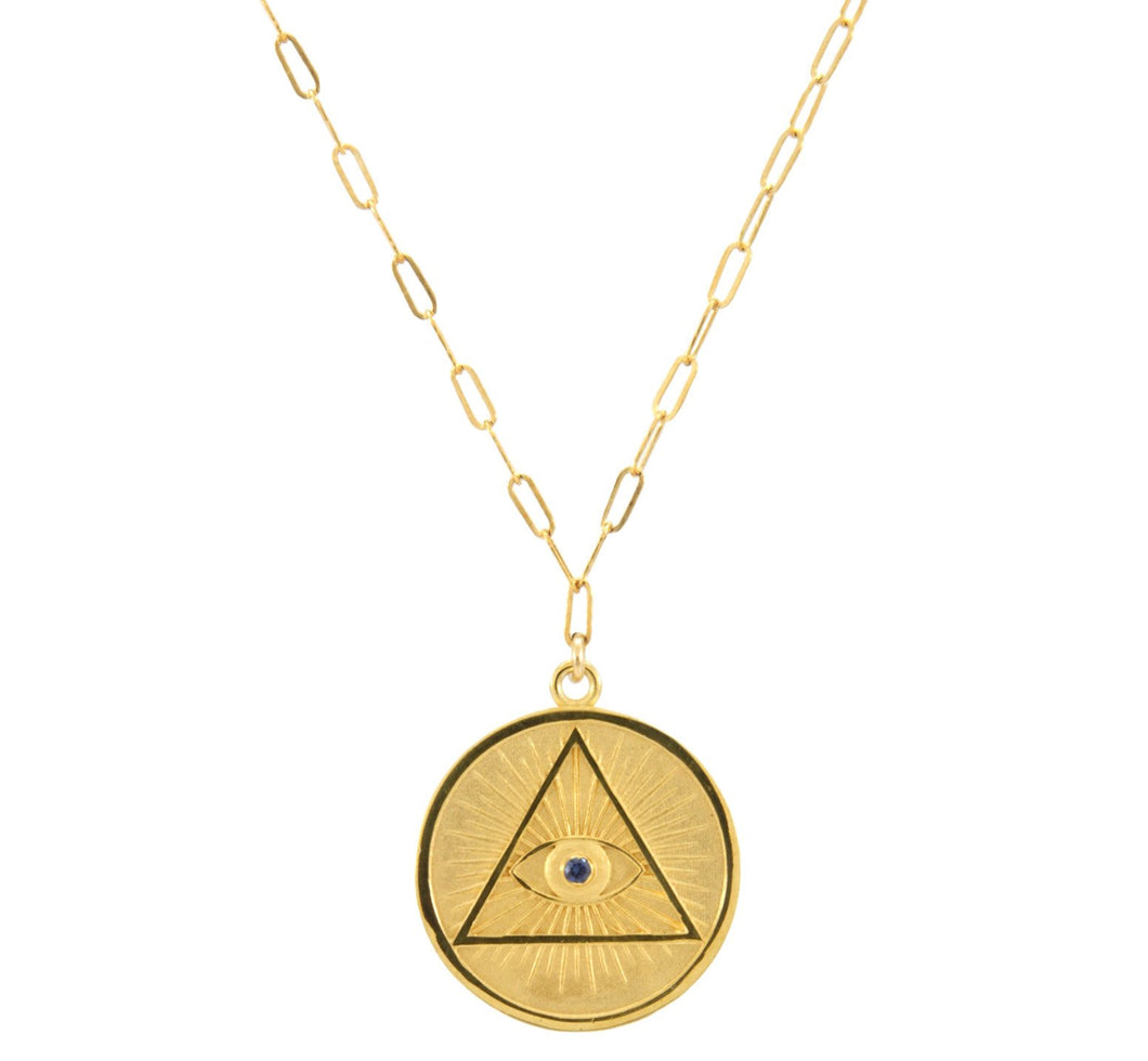 Coin Illuminati Necklace