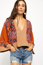 Load image into Gallery viewer, Orange Mix & Match Blouse