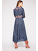 Load image into Gallery viewer, Embroidered Fable Midi Dress