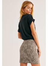 Load image into Gallery viewer, Modern Femme Leopard Skirt