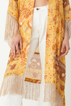 Load image into Gallery viewer, Mystic Sunflower Tassled Robe