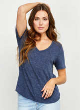 Load image into Gallery viewer, Vanessa Navy Tee